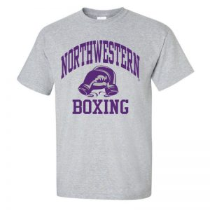 NW2504 Grey Boxing Choose Your Sport Short Sleeve Tshirt