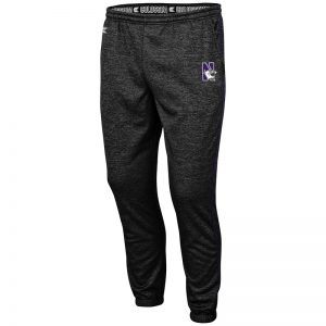 Northwestern University Wildcats Colosseum Men's Burns Pant With Embroidered N-Cat Design
