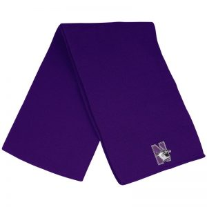 Northwestern University Wildcats Frosty Solid Purple Knit Scarf