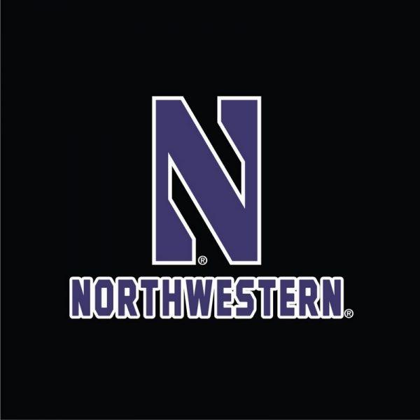 Northwestern University Wildcats Champion Men's Black Victory Jacket -2