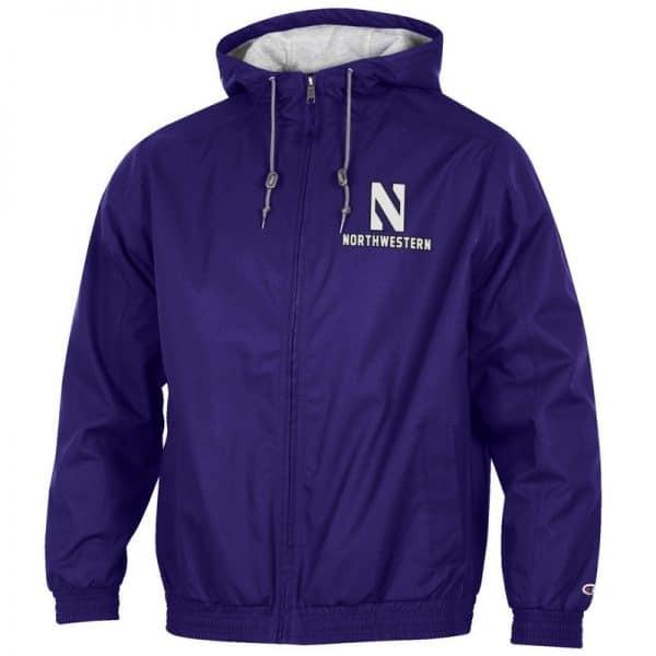 Northwestern University Wildcats Champion Men's Purple Victory Jacket