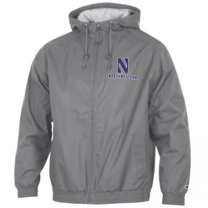 Northwestern University Wildcats Champion Men's Titanium Victory Jacket