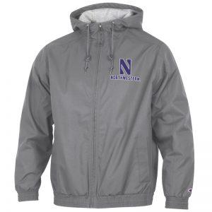 Northwestern University Wildcats Champion Men's Titanium Victory Jacket