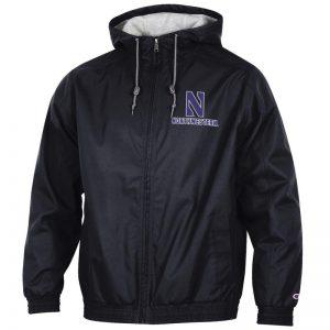 Northwestern University Wildcats Champion Men's Black Victory Jacket