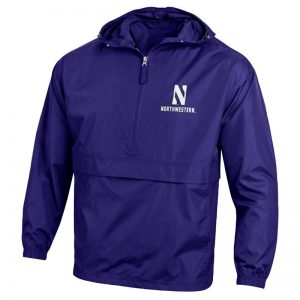 Northwestern University Wildcats Champion Men's Purple Packable Jacket