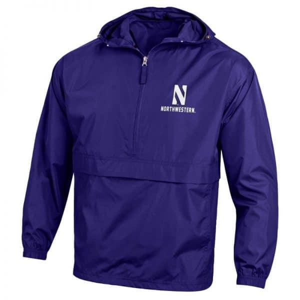 Northwestern University Wildcats Champion Men's Purple Packable Jacket