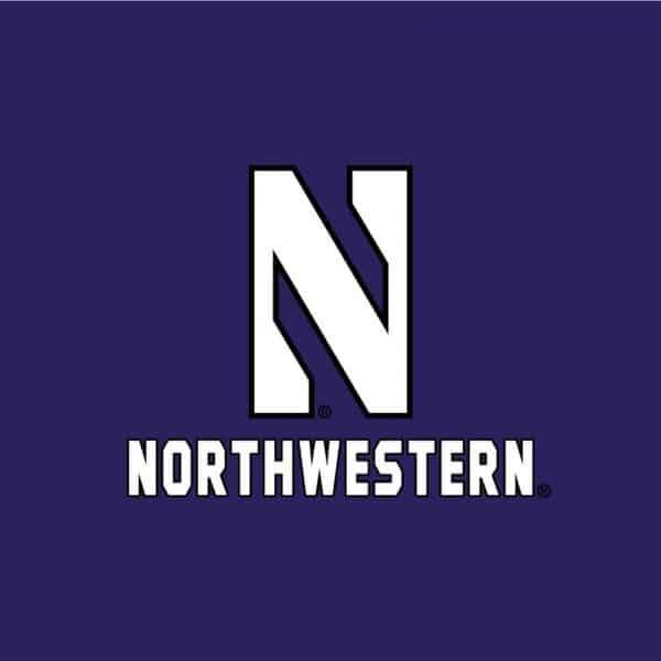 Northwestern University Wildcats Champion Youth Purple Packable Jacket-2