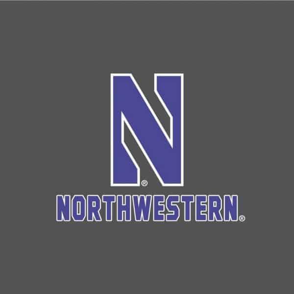 Northwestern University Wildcats Champion Youth Graphite Packable Jacket -2