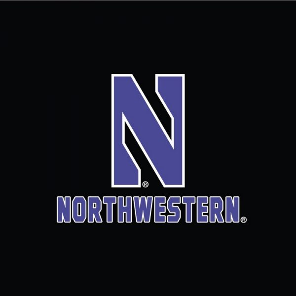 Northwestern University Wildcats Champion Youth Black Packable Jacket -2