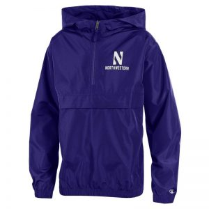 Northwestern University Wildcats Champion Youth Purple Packable Jacket