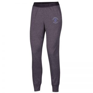 Northwestern University Wildcats Ladies Under Armour Carbon Heather Play Up Pants