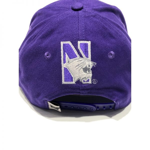 Northwestern University Wildcats Purple Authentic Vintage Snapback Flatrim Hat From 1995 Rose Bowl Year -3