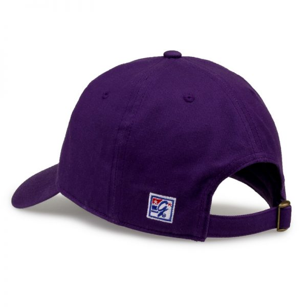 Northwestern University Wildcats Unconstructed Purple Cotton Twill Game Brand Hat-Back