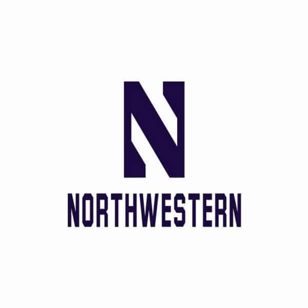 Northwestern University Wildcats Ladies Under Armour White Softshell Jacket With Stylized N Design-2