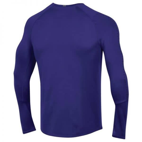 Northwestern University Wildcats Youth Under Armour Sideline Purple Raid Long Sleeve Tee-2