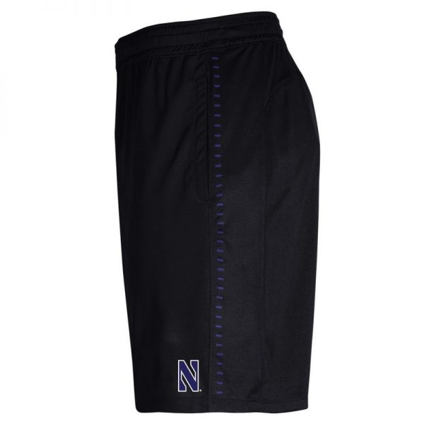 Northwestern University Wildcats Youth Under Armour Black Raid Short -2
