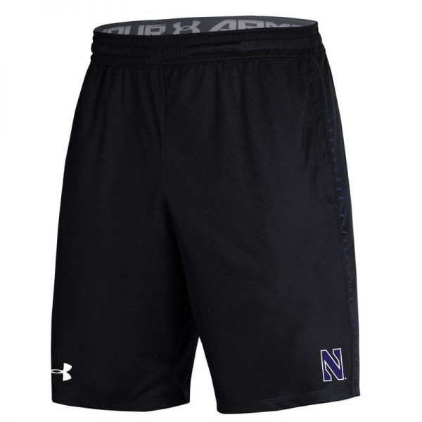 Northwestern University Wildcats Youth Under Armour Black Raid Short