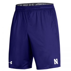 Northwestern University Wildcats Men's Under Armour Purple Raid Short