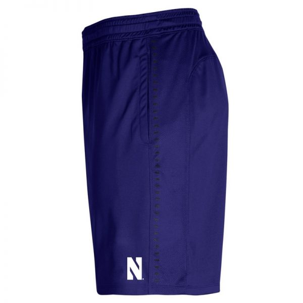 Northwestern University Wildcats Men's Under Armour Purple Raid Short-2