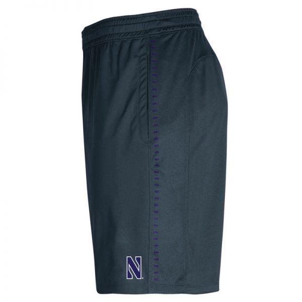 Northwestern University Wildcats Men's Under Armour Grey Raid Short -2