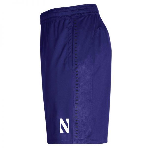 Northwestern University Wildcats Youth Under Armour Purple Raid Short -2