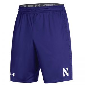 Northwestern University Wildcats Youth Under Armour Purple Raid Short