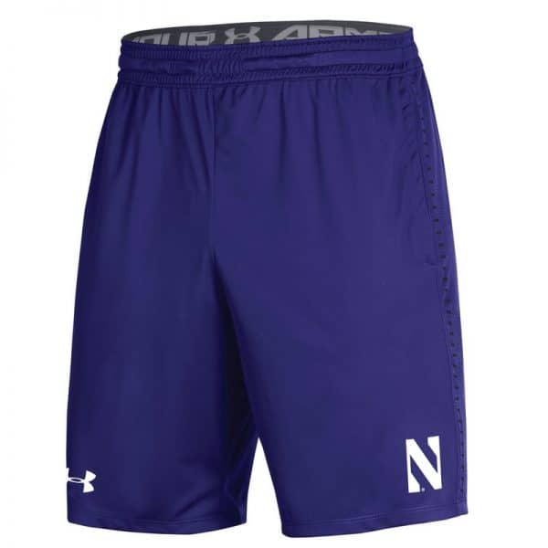 Northwestern University Wildcats Youth Under Armour Purple Raid Short