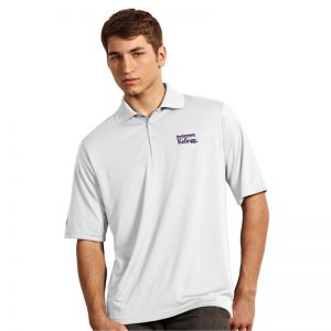 Northwestern / Kellogg Antigua Men's White Polo Shirt