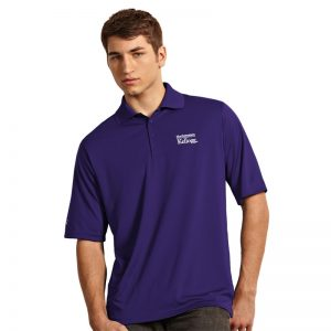 Northwestern / Kellogg Antigua Men's Purple Polo Shirt