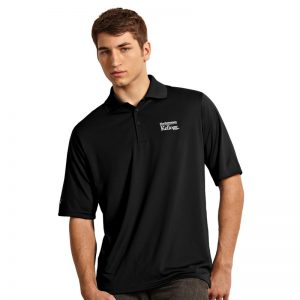 Northwestern / Kellogg Antigua Men's Black Polo Shirt