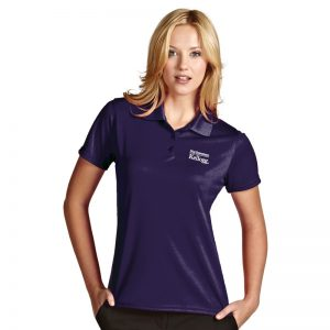 Northwestern / Kellogg Antigua Ladies Purple Polo Shirt