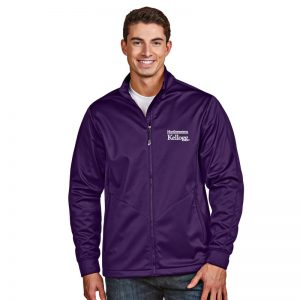 Northwestern / Kellogg Antigua Men's Purple Golf Jacket