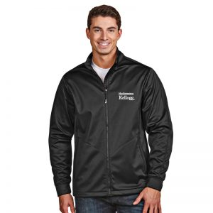 Northwestern / Kellogg Antigua Men's Black Golf Jacket