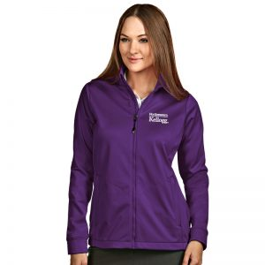 Northwestern / Kellogg Antigua Ladies Purple Golf Jacket