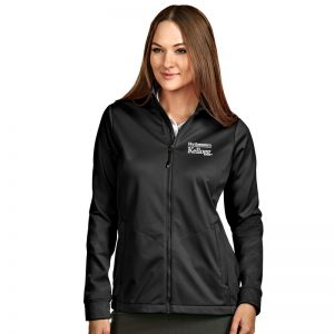 Northwestern / Kellogg Antigua Ladies Black Golf Jacket