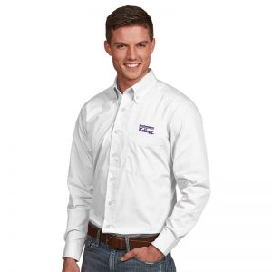 Northwestern / Kellogg Antigua Men's White Dress Shirt