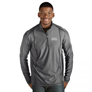 Northwestern / Kellogg Antigua Men's Grey Tempo 1/4 Zip
