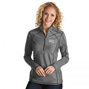 Northwestern / Kellogg Antigua Ladies Grey Tempo 1/2 Zip