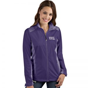 Northwestern / Kellogg Antigua Ladies purple Revolve Jacket