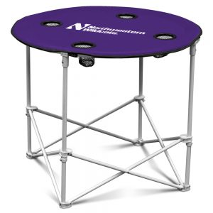 Northwestern University Wildcats Purple Round Table
