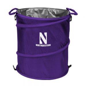 Northwestern University Wildcats Purple Collapsible 3-IN-1