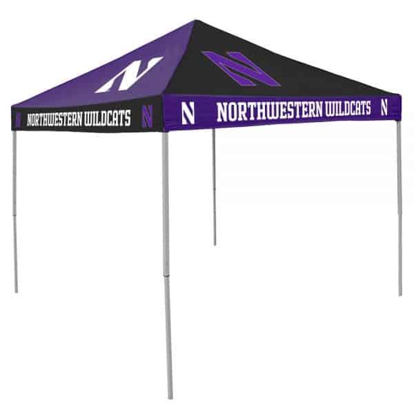 Northwestern University Wildcats Deluxe Checkerboard Canopy Tent