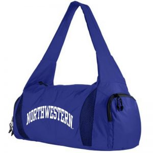 Northwestern University Wildcats Augusta Sportswear Purple Purple Competition Bag with Shoe Pocket AS1141