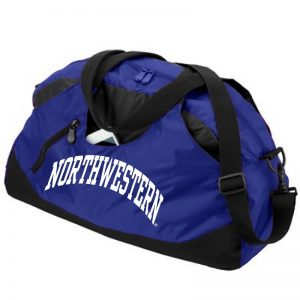 Northwestern University Wildcats Augusta Sportswear Purple Crescent Duffle Bag AS1147