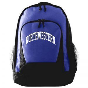 Northwestern University Wildcats Augusta Sportswear Purple Ripstop Backpack AS170