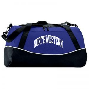 Northwestern University Wildcats Augusta Sportswear Purple Tri-Color Sports Bag AS1910