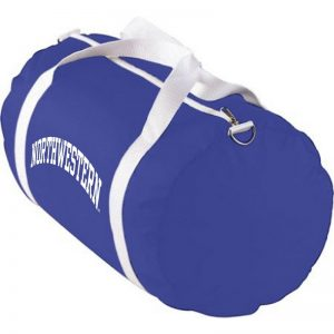 Northwestern University Wildcats Augusta Sportswear Purple Nylon Sports Bag AS2000