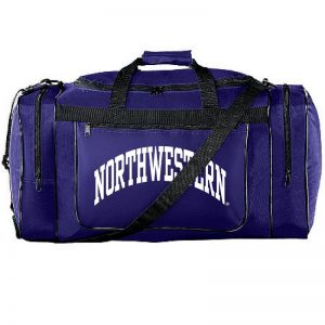 Northwestern University Wildcats Augusta Sportswear Purple Gear Bag AS511