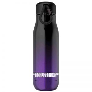 Northwestern University Wildcats 18oz Purple Ombre Zoku Bottle