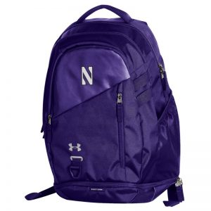 Northwestern University Wildcats Under Armour Purple Hustle 4.0 Backpack